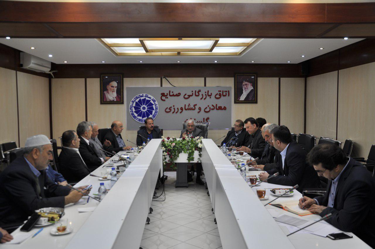 انتخابات نمایندگان اتاق گرگان دراتاق بازرگانی ایران و همچنین روسای کمیسیون های تخصصی انتخاب شدند