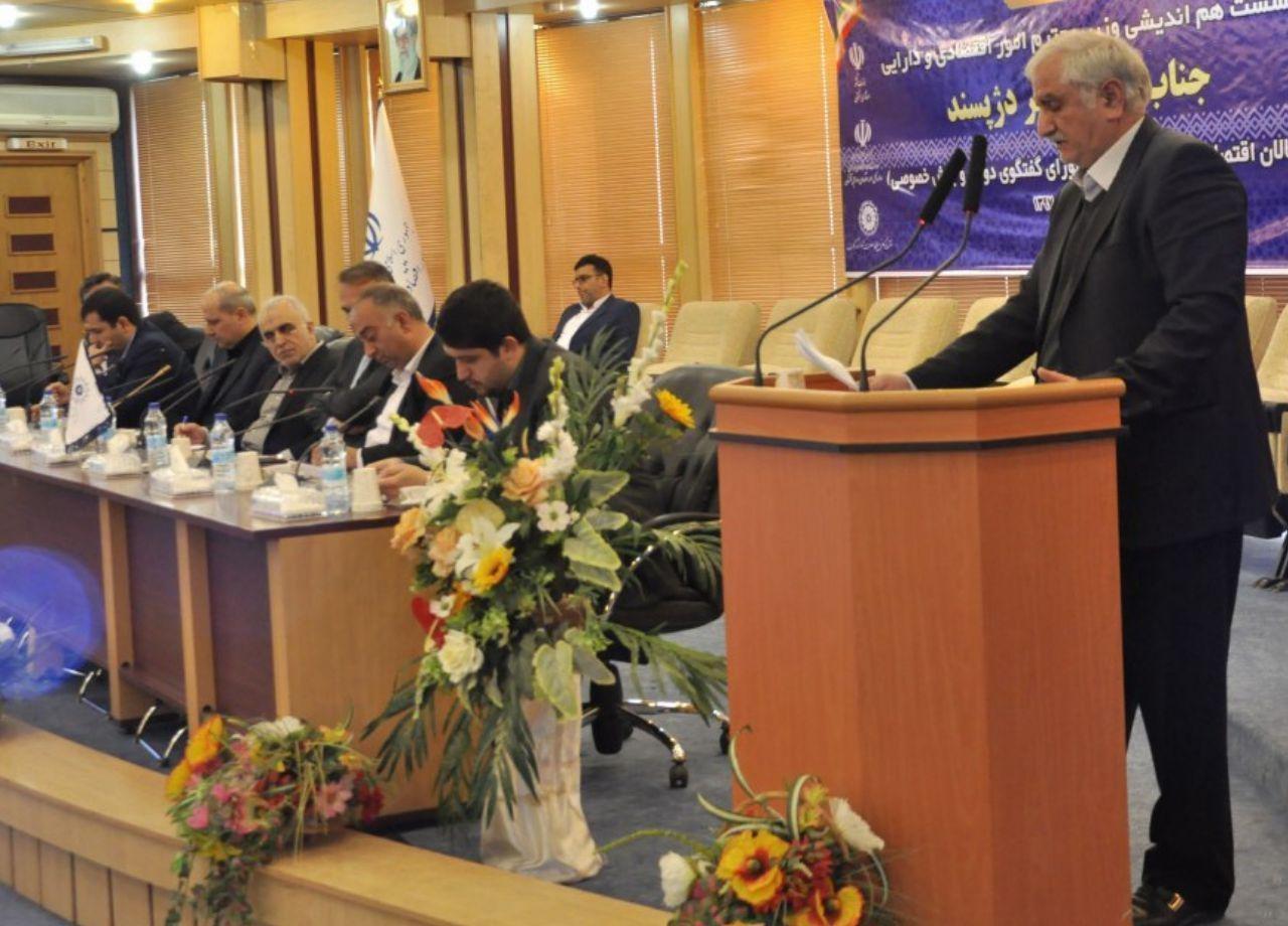 جلسه شورای گفتگوی دولت و بخش خصوصی استان گلستان با حضور وزیر اقتصاد و دارایی کشور