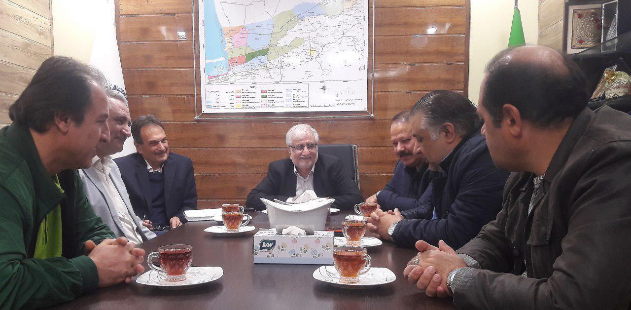 نشست اعضای هیات مدیره انجمن ارگانیک استان گلستان با رییس اتاق گرگان
