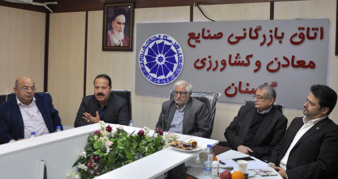 علی محمد چوپانی برای 4 سال آینده رییس اتاق گرگان شد