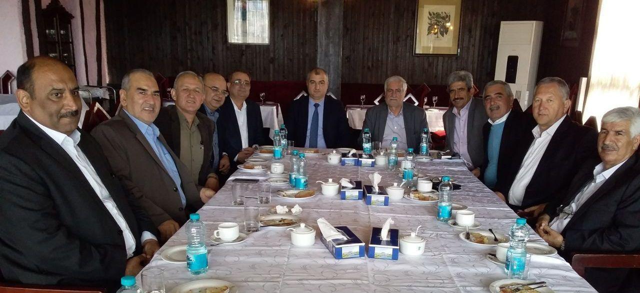 اعضای هیات نمایندگان اتاق گرگان با سفیر ترکمنستان در ایران، دیدار کردند