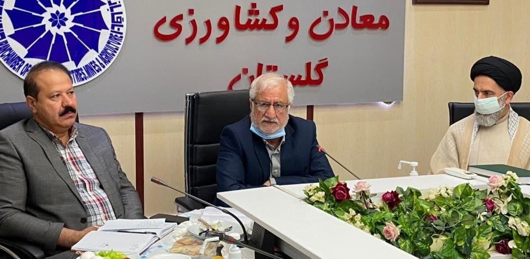 نشست آشنایی بادیدگاههای نامزدهای ریاست جمهوری،  با حضور رئیس شورای هماهنگی ستادهای مردمی آیت الله رئیسی در استان گلستان