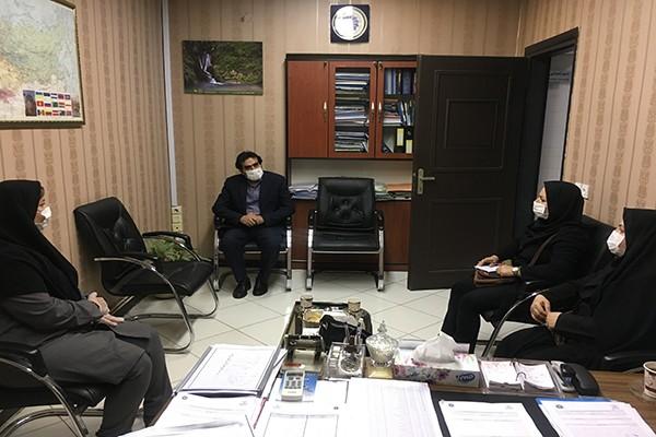 نشست معاون صنایع دستی گلستان با دبیر کل اجرایی اتاق بازرگانی استان