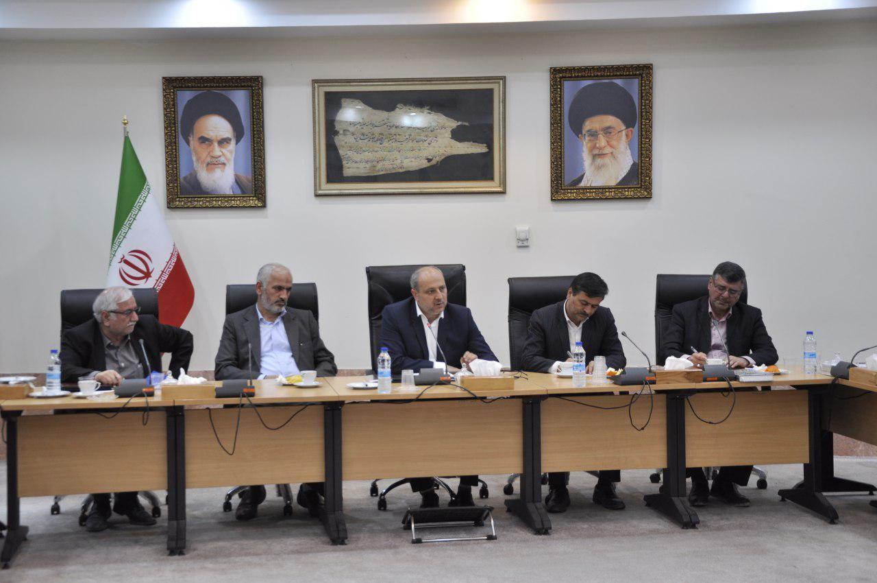 آخرین جلسه شورای گفتگوی دولت و بخش خصوصی استان گلستان در سال 97