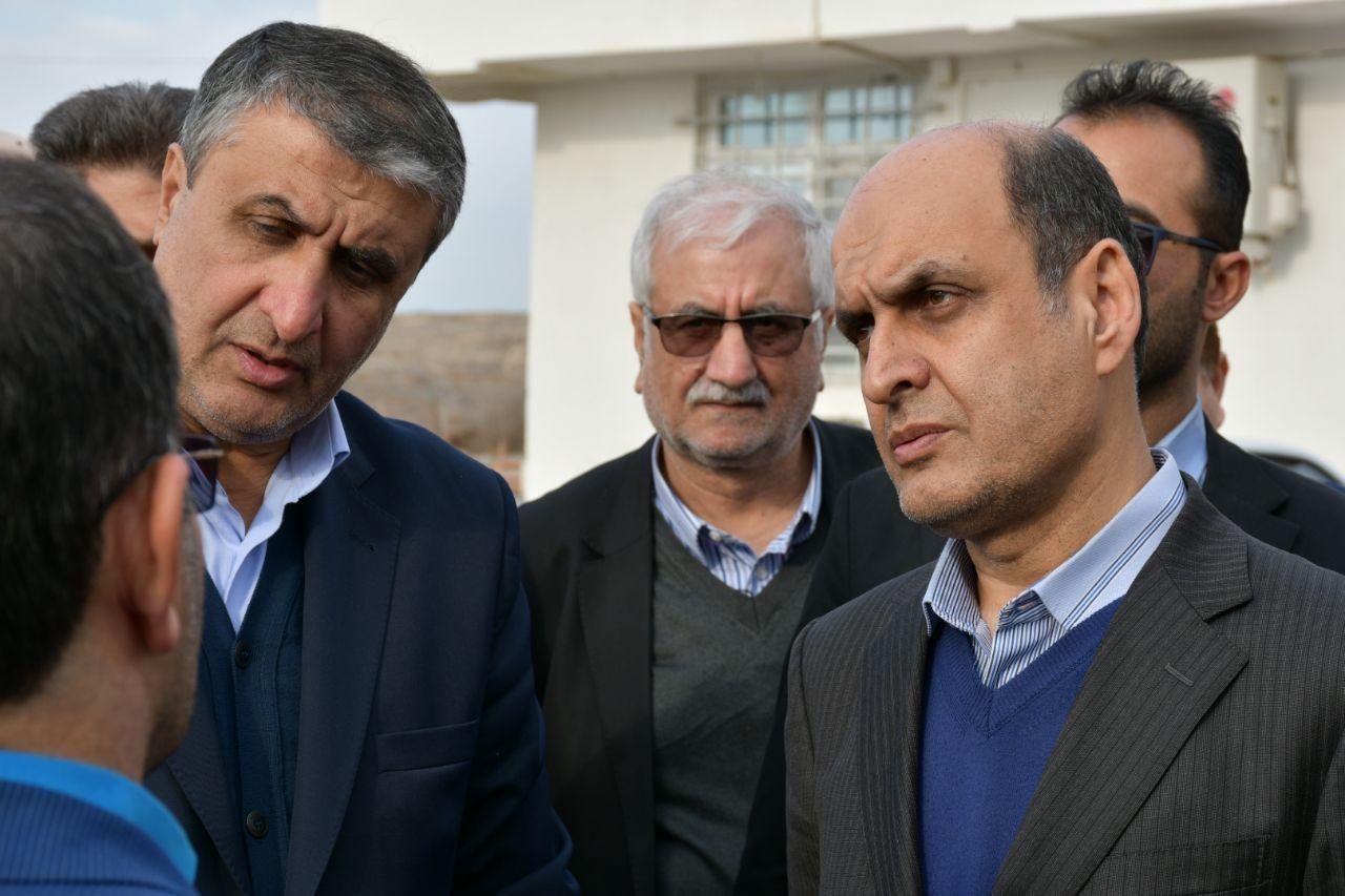 حضور مهندس اسلامی وزیر راه و شهرسازی به استان گلستان