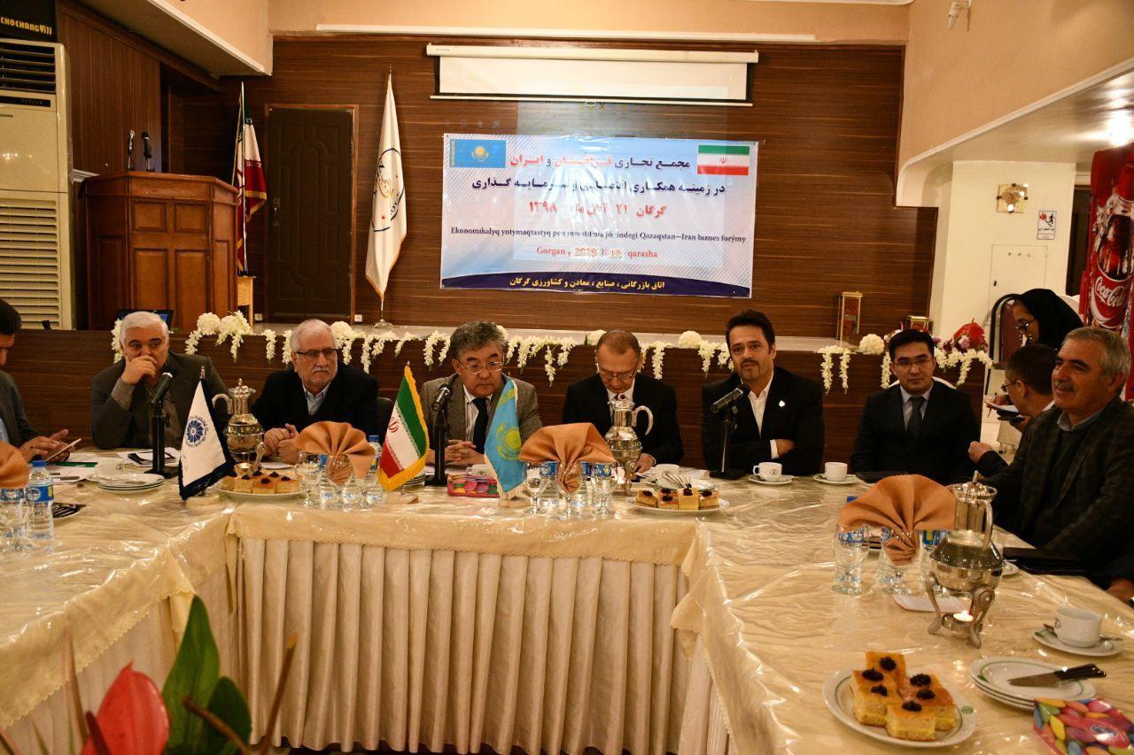 از توسعه تجارت ایران و قزاقستان حمایت می کنیم