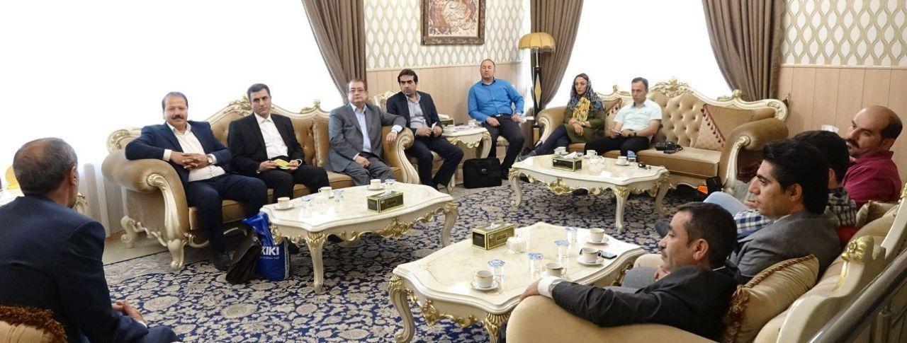 نشست هیات تجاری استان گلستان با سرکنسول جمهوری اسلامی ایران در اربیل عراق
