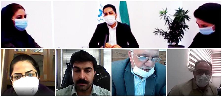 نشست آموزشی آنلاین دبیرخانه های شوراهای استانی گفت و گوی دولت و بخش خصوصی در سراسر کشور
