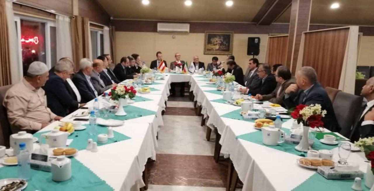 حضور سفیر اتریش در استان گلستان