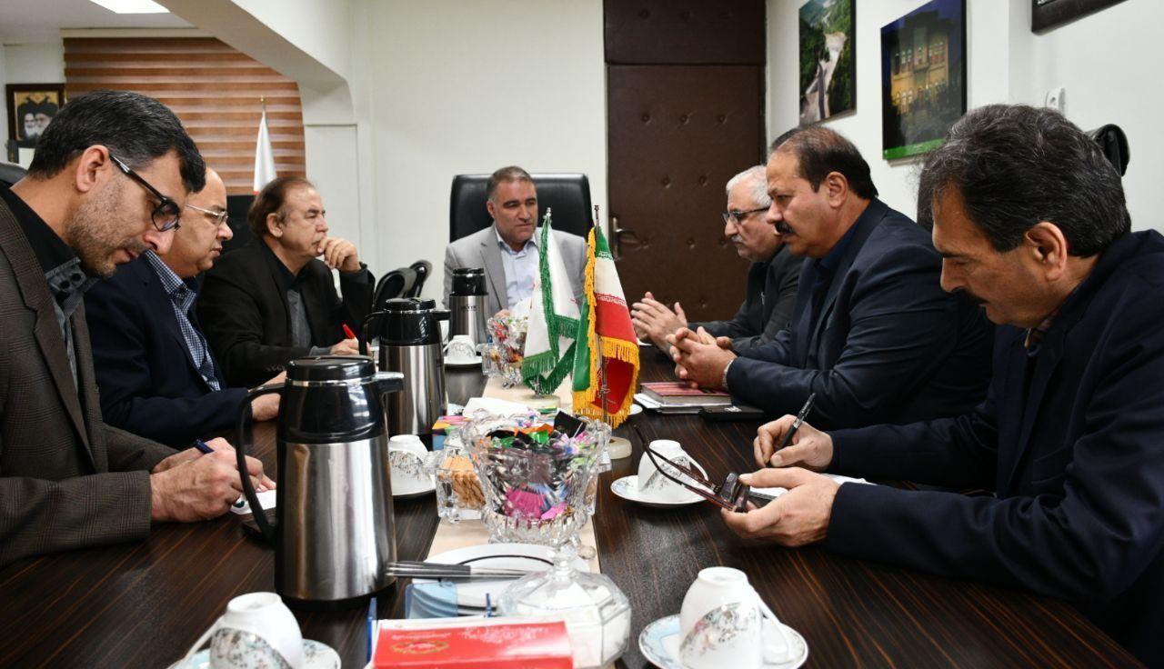 دیدار رییس و برخی اعضای هیات رییسه اتاق گرگان با مدیر کل راه و شهر سازی استان گلستان