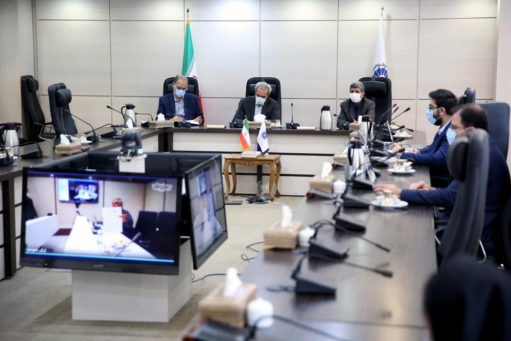 نشست مجازی اعضای هیئت نمایندگان اتاق گرگان با رئیس اتاق ایران