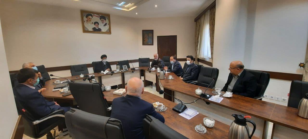 نشست تخصصی رییس اتاق بازرگانی گرگان و برخی فعالان اقتصادی با دادستان استان گلستان پیرامون مشکلات و موانع فعالان اقتصادی