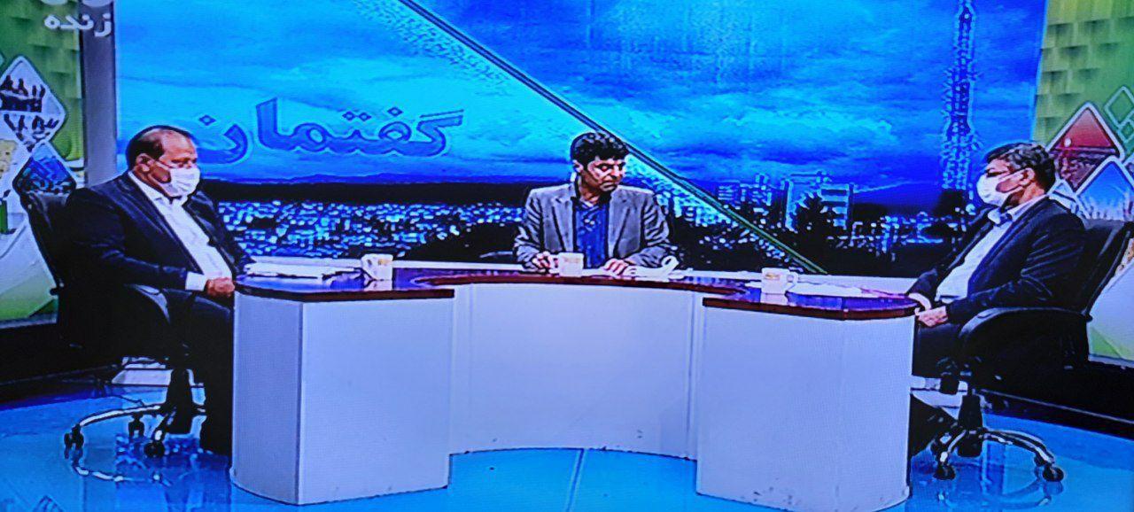 یوسفی نایب رئیس اتاق در برنامه تلوزیونی گفتمان با موضوع بررسی وضعیت کشاورزی استان