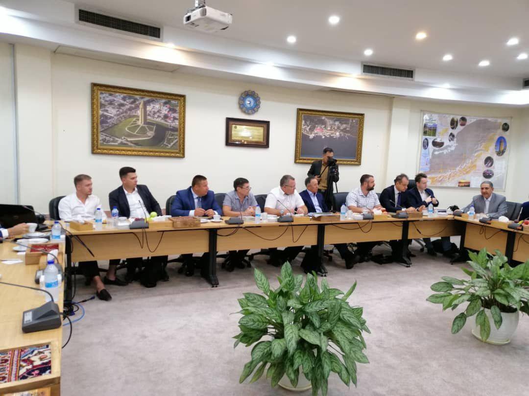 حضور هیئت تجاری - افتصادی استان سارتف روسیه در استان گلستان