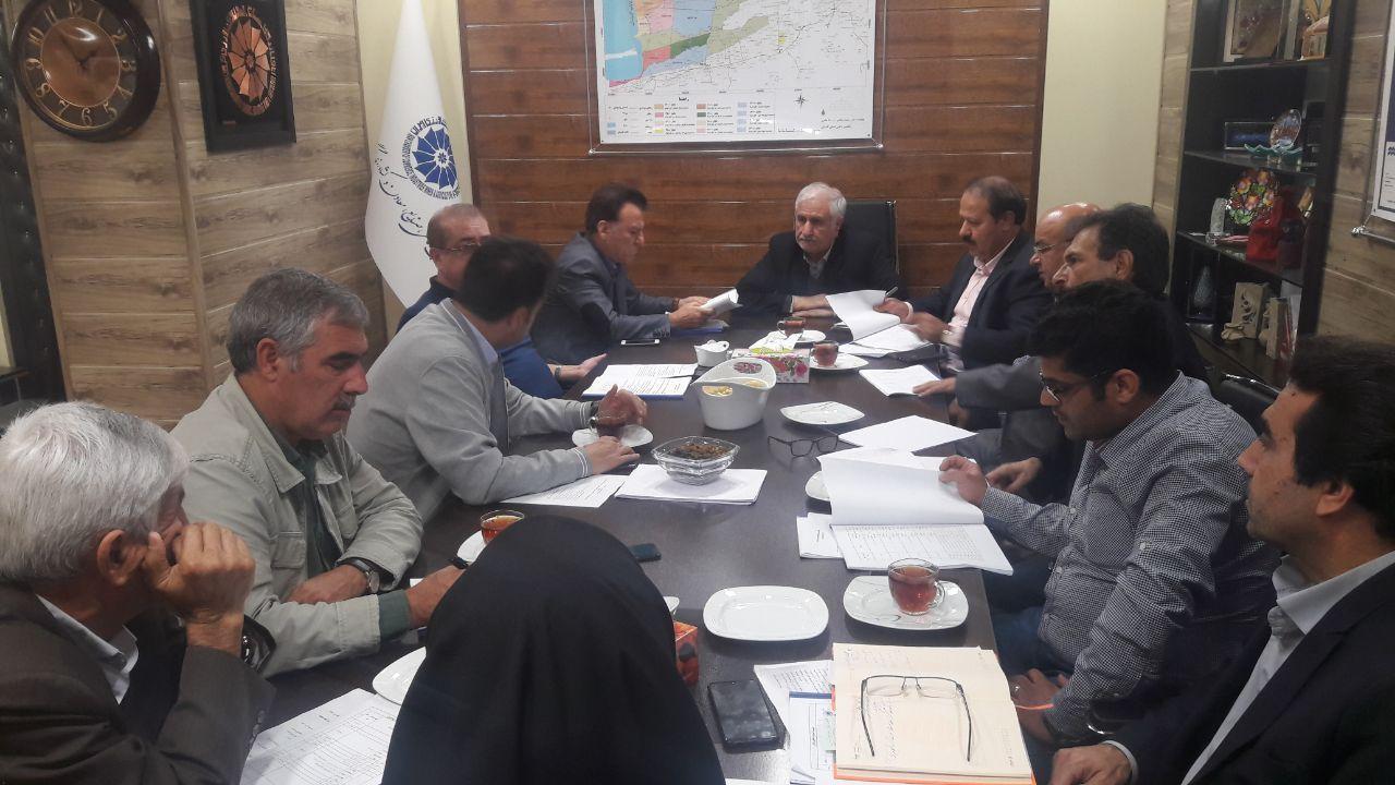 نشست هم اندیشی روسای کمیسیون های تخصصی اتاق بازرگانی گرگان در خصوص منطقه اوراسیا